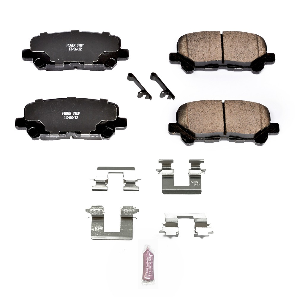 2012 Honda Pilot Disc Brake Pad And Hardware Kit P8 17 1585