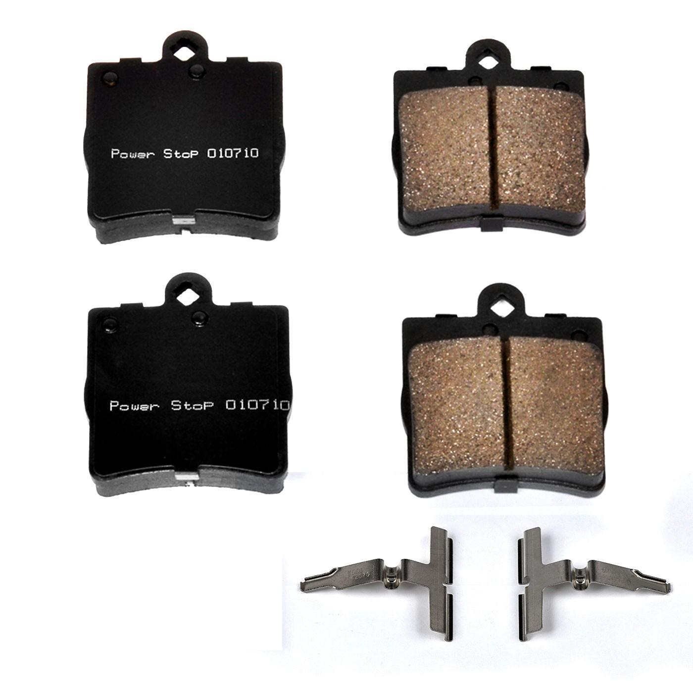 2005 Chrysler Crossfire Disc Brake Pad And Hardware Kit Wiring Harness P8 17 779