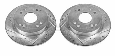 1995 Honda Accord Disc Brake Rotor Set P8 JBR526XPR