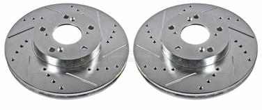 2000 Honda Accord Disc Brake Rotor Set P8 JBR709XPR