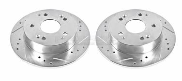2000 Honda Accord Disc Brake Rotor Set P8 JBR910XPR
