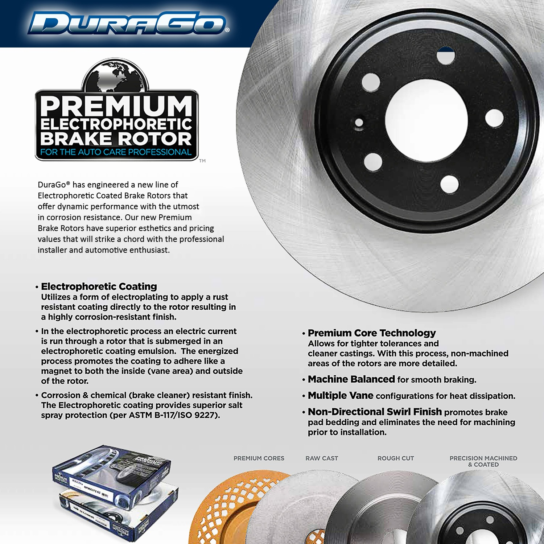 DuraGo BR900468 Front Vented Disc Brake Rotor
