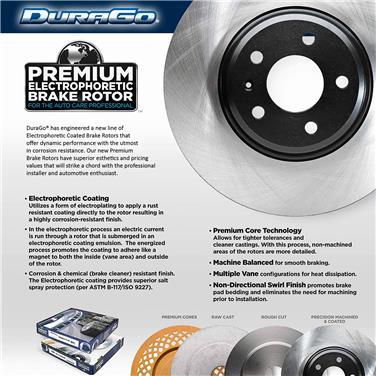 2007 Dodge Charger Disc Brake Rotor PR BR53021-02