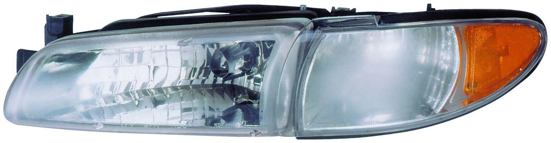 2000 Pontiac Grand Prix Headlight Embly Rb 1590082