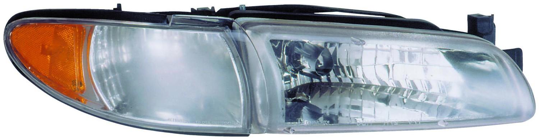 2000 Pontiac Grand Prix Headlight Embly Rb 1590083