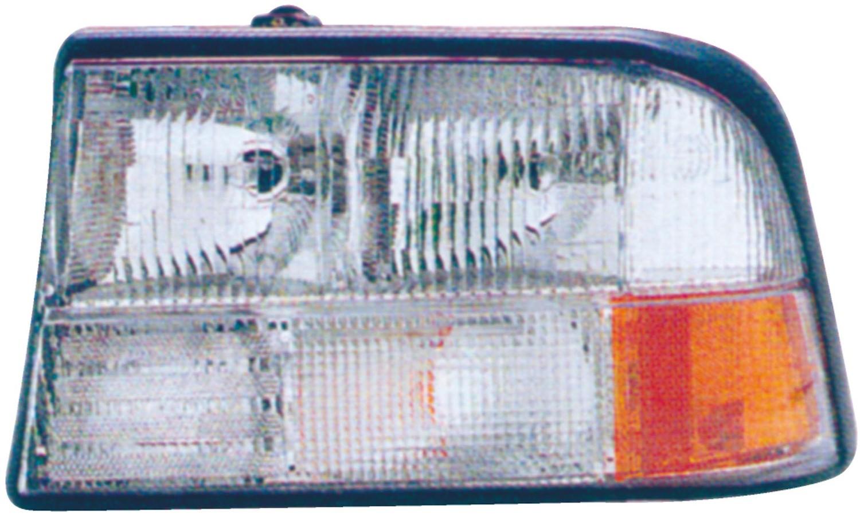 2001 Gmc Sonoma Headlight Embly Rb 1590104