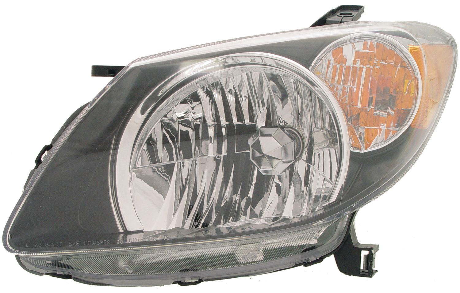 2004 Pontiac Vibe Headlight Embly Rb 1591047