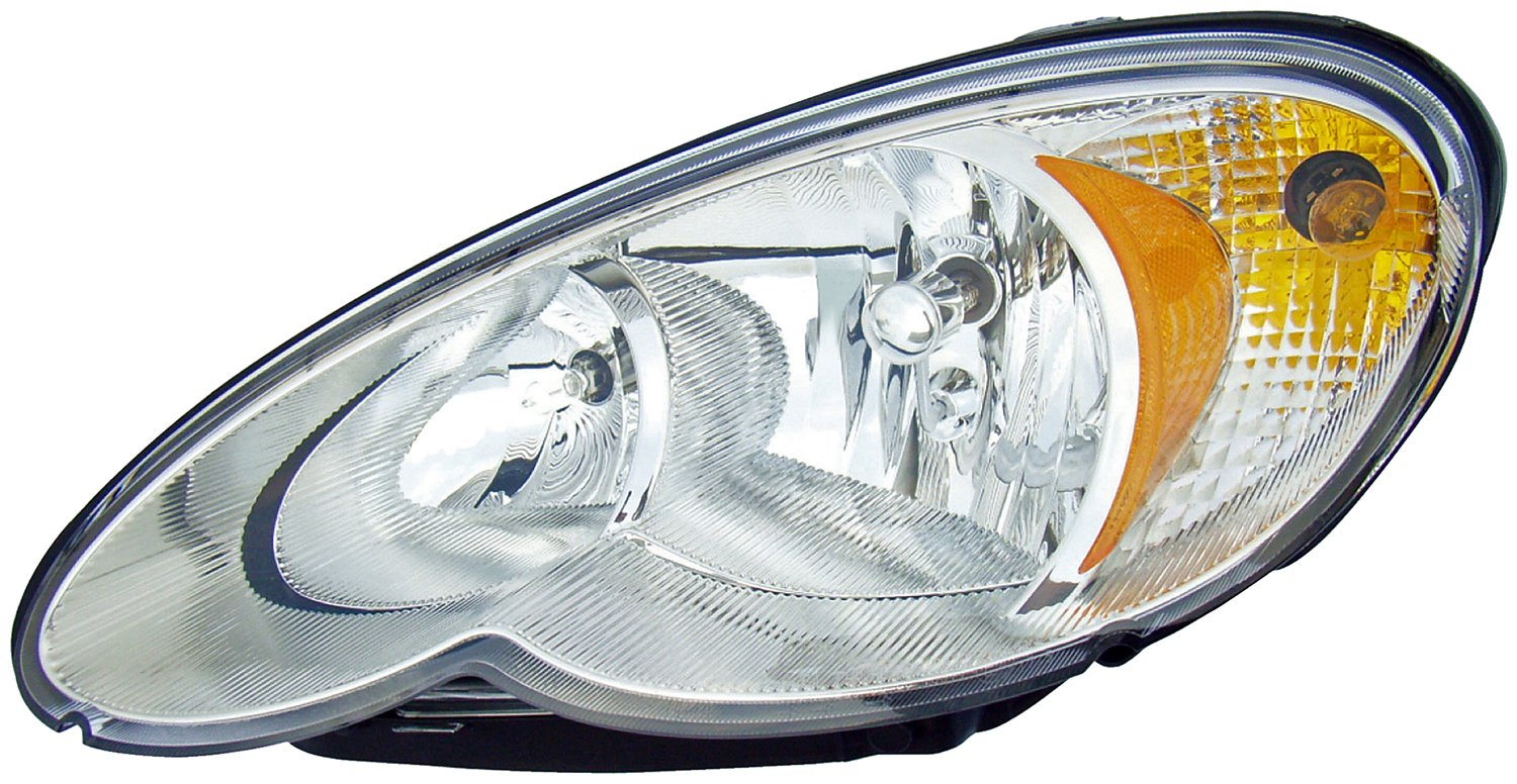 2006 Chrysler Pt Cruiser Headlight Embly Rb 1591852