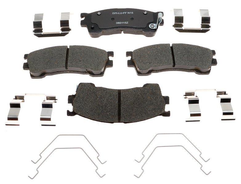 BECK//ARNLEY 082-1470 Premium Organic Disc Brake Pads Rear FREE SHIPPING!