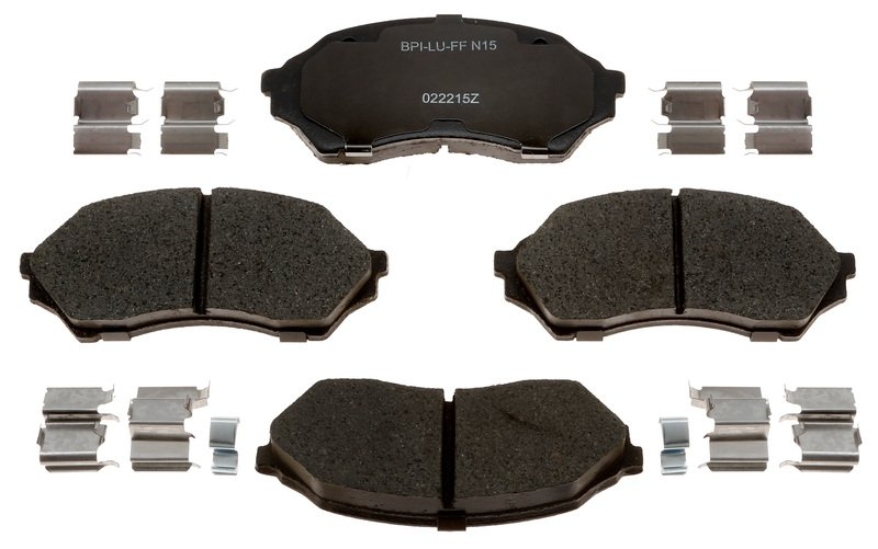 Front Wagner ThermoQuiet PD798 Ceramic Disc Pad Set