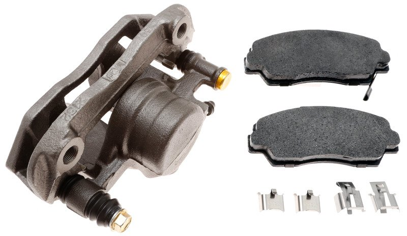 Disc Brake Caliper-Unloaded Caliper Front Left Cardone 19-1101 Reman