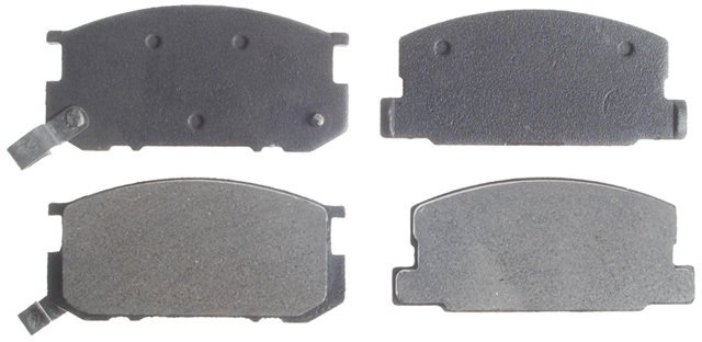 BECK//ARNLEY 082-1287 Premium Organic Disc Brake Pads Rear
