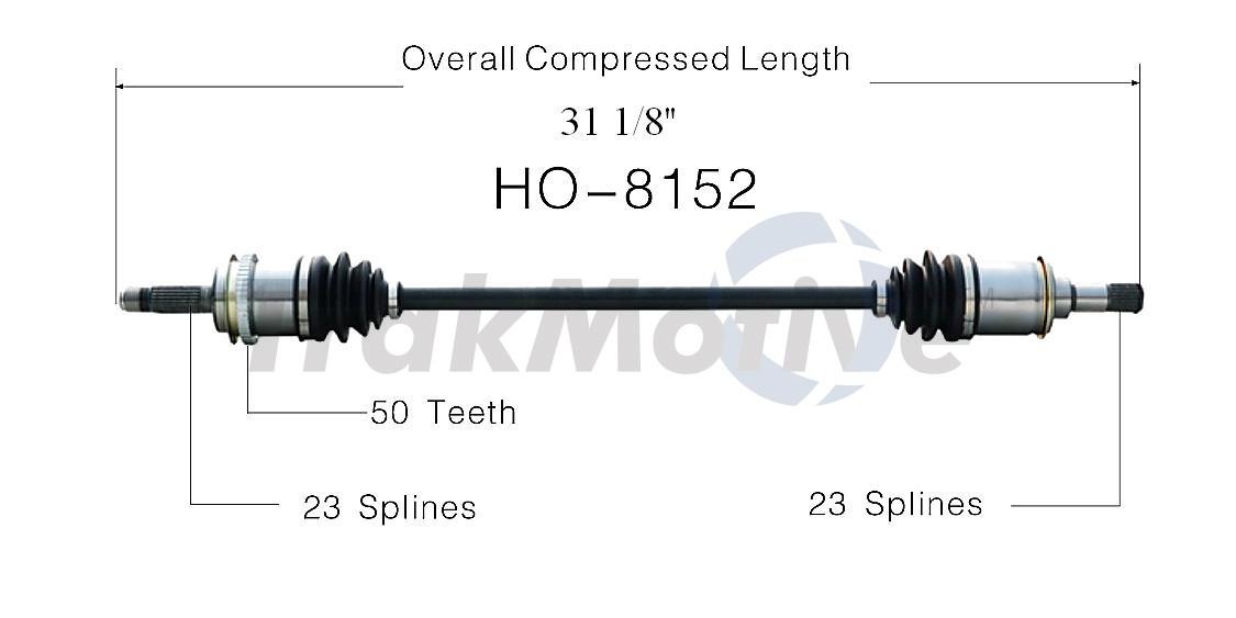 CV Axle Shaft Front Left SurTrack HO-8103 fits 97-01 Honda CR-V