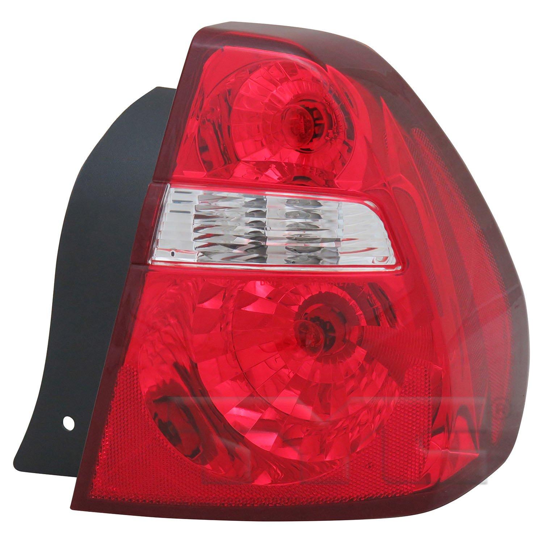 2006 Chevrolet Malibu Tail Light Embly Ty 11 6007 00 1