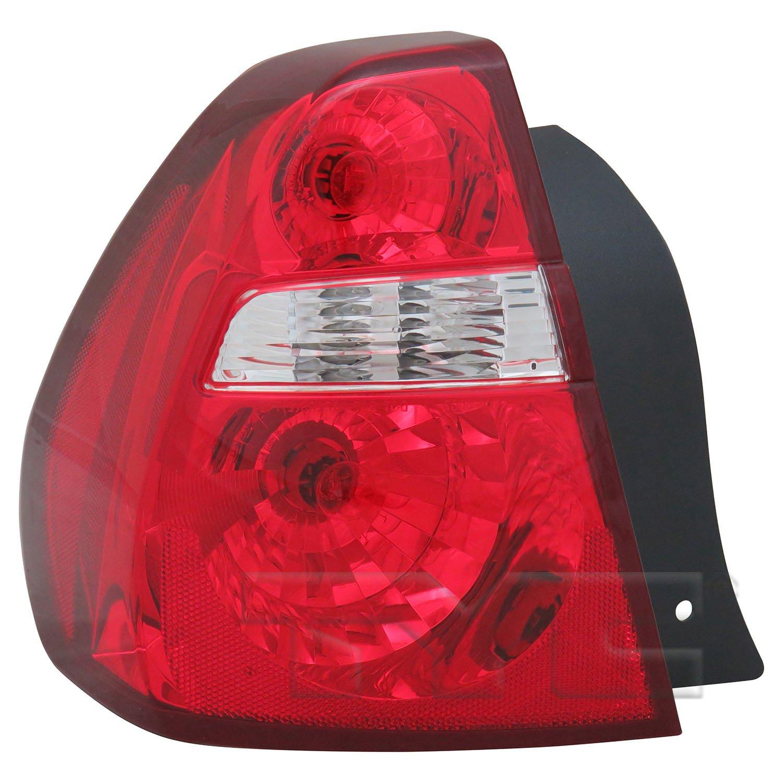 2005 Chevrolet Malibu Tail Light Embly Ty 11 6008 00 1