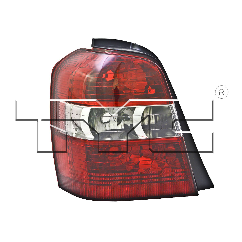 2006 Toyota Highlander Tail Light Assembly Hybrid Headlamp Parts Diagram Ty 11 6054 01 1