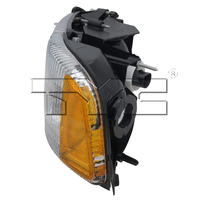 2000 Dodge Ram 2500 Headlight Embly Ty 20 3017 78 1