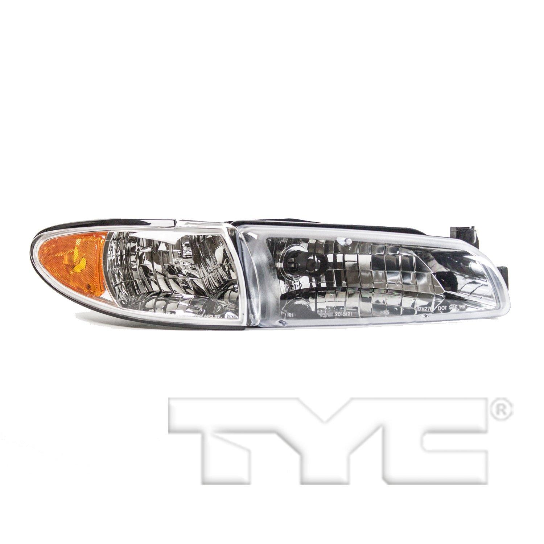 2002 Pontiac Grand Prix Headlight Embly Ty 20 5121 09 1