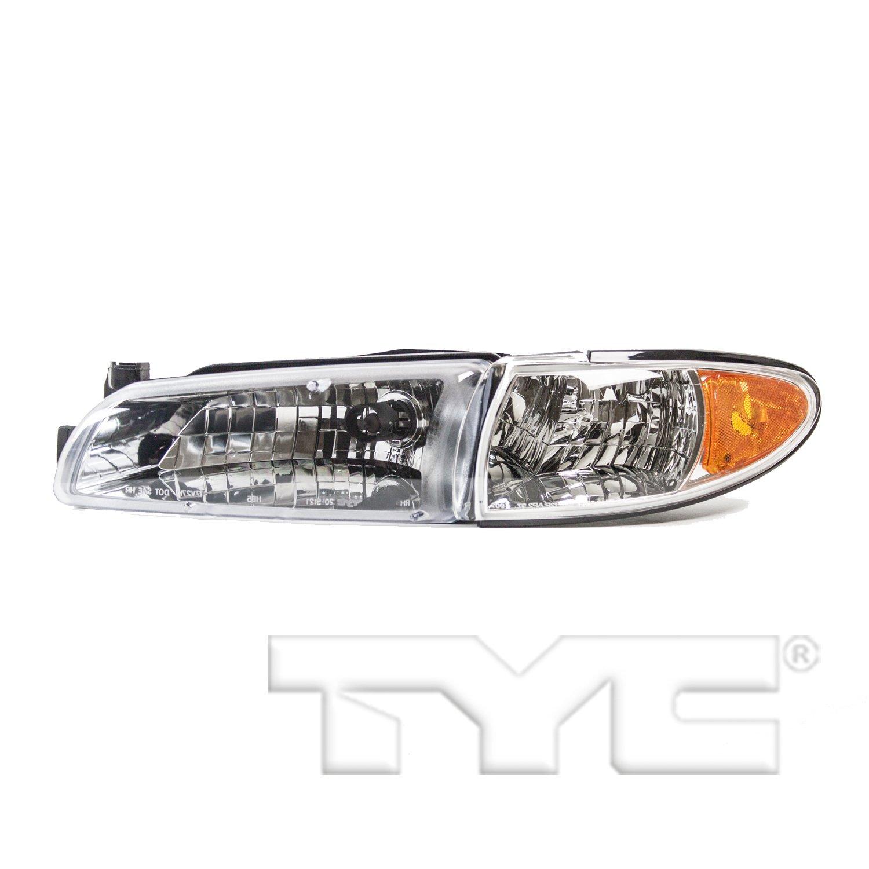 2000 Pontiac Grand Prix Headlight Embly Ty 20 5122 09 1