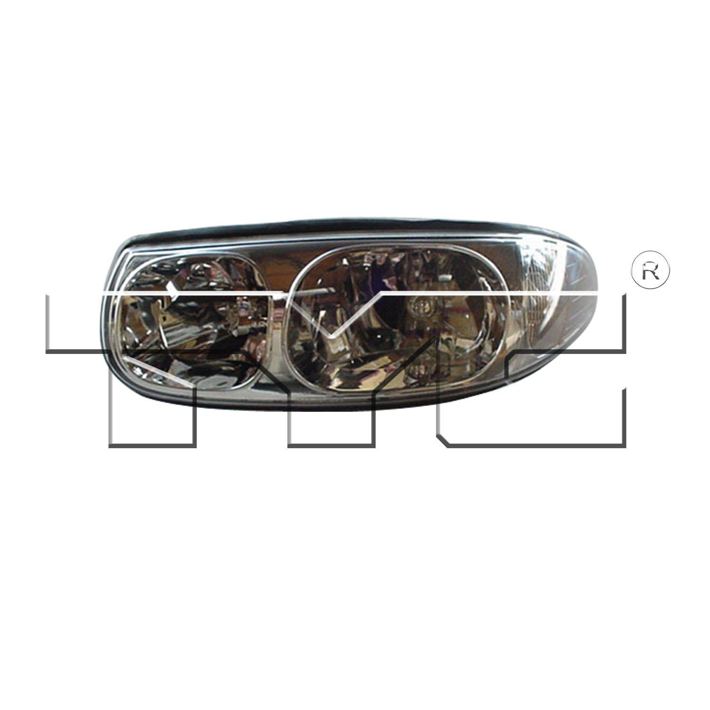 2004 Buick Lesabre Headlight Embly Ty 20 5874 90 1