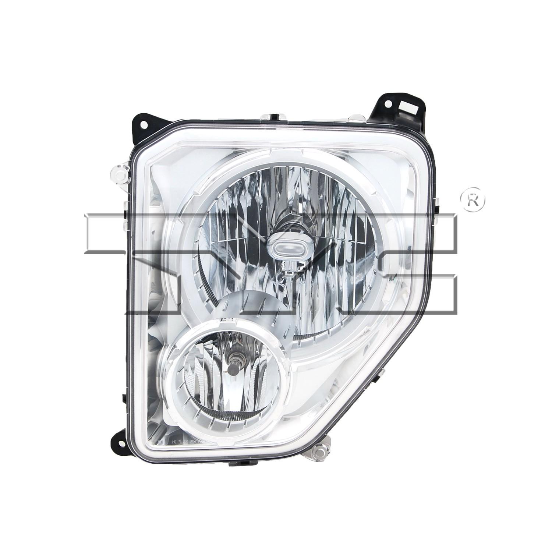 2008 Jeep Liberty Headlight Embly Ty 20 6974 00 1