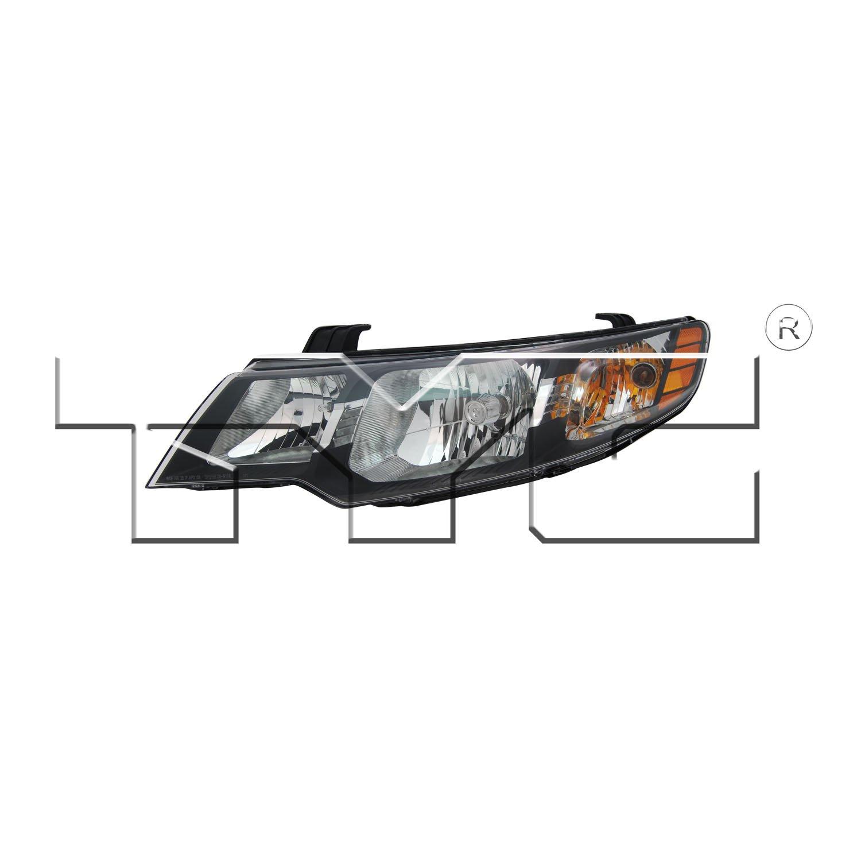 2011 Kia Forte Headlight Assembly Ty 20 9118 00 1