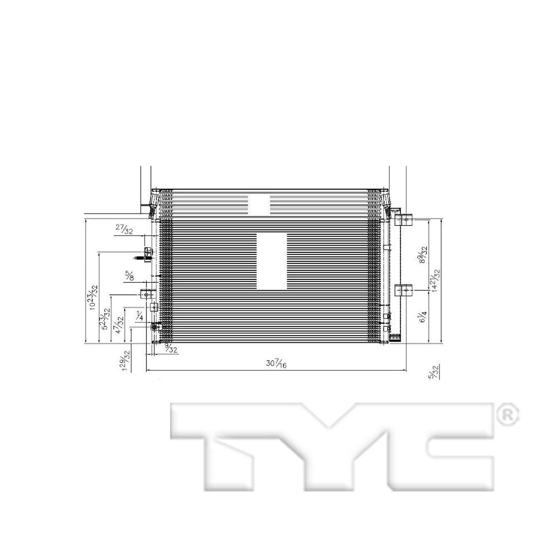 UAC CN 30006PFC Condenser