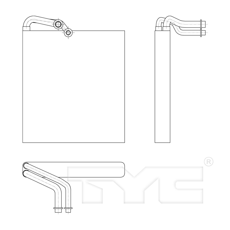 A//C Refrigerant Discharge Hose-Discharge Line UAC fits 06-11 Honda Civic 1.8L-L4