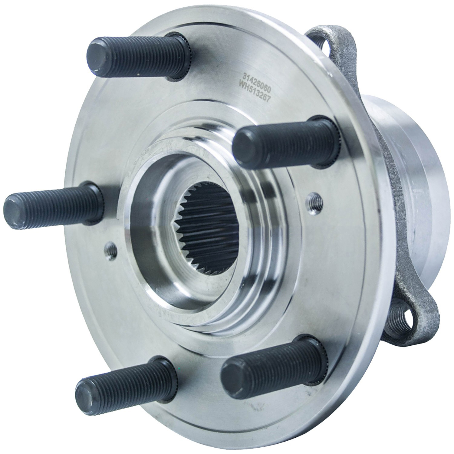 2009 Acura MDX Wheel Bearing And Hub Assembly