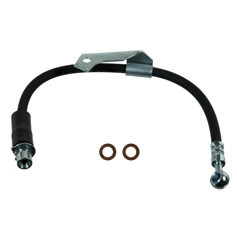 Pro Braking PBC4545-TBL-SIL Braided Clutch Line Transparent Blue Hose /& Stainless Banjos