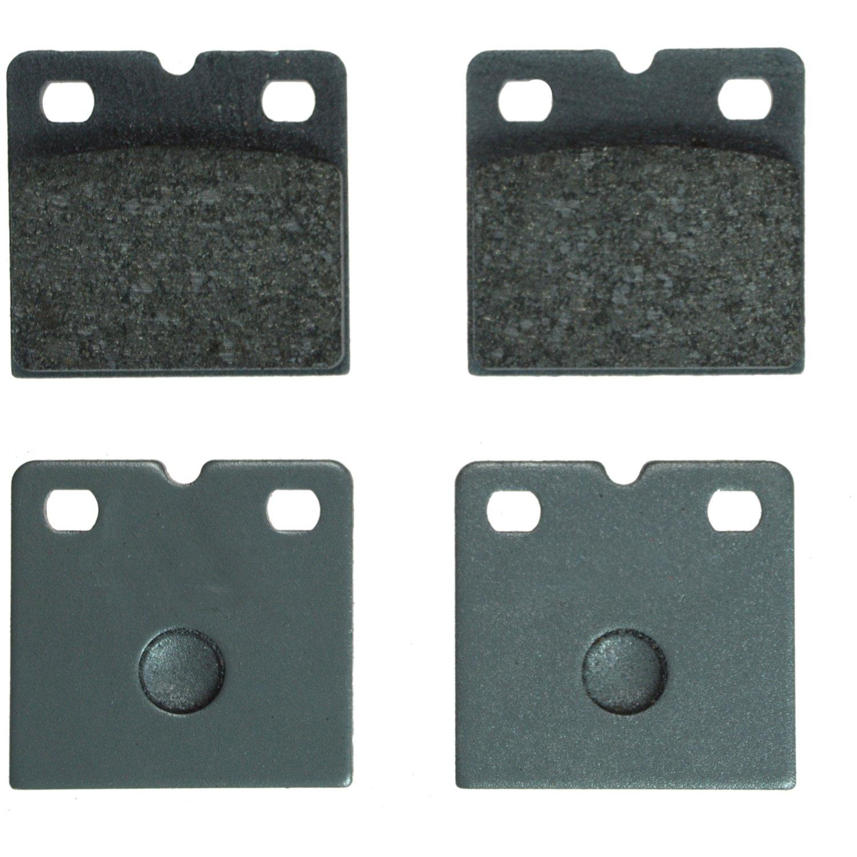 Parking Brake Pad Set-C-TEK Metallic Preferred Rear Centric 102.09710