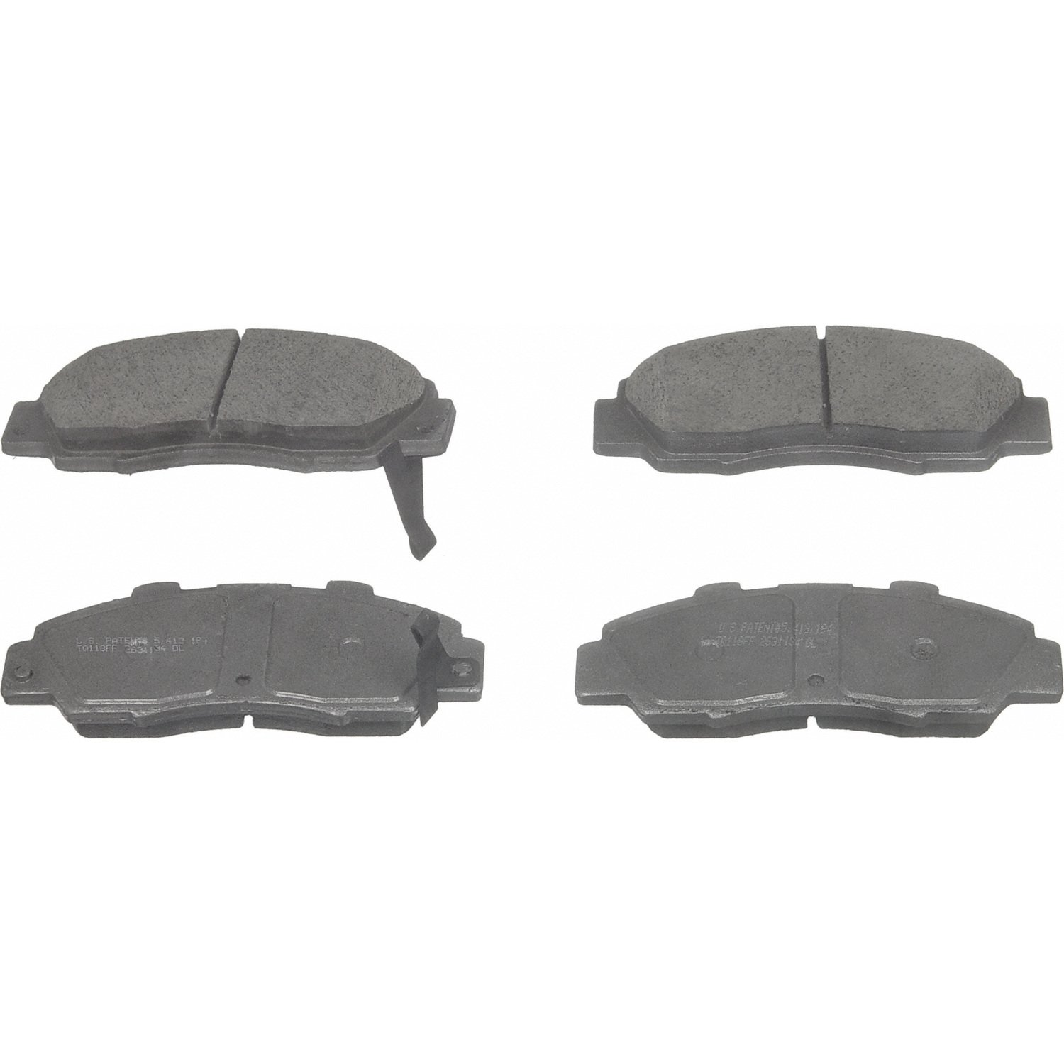 Disc Brake Pad Set-QuickStop Disc Brake Pad Front Wagner fits 05-12 Acura RL