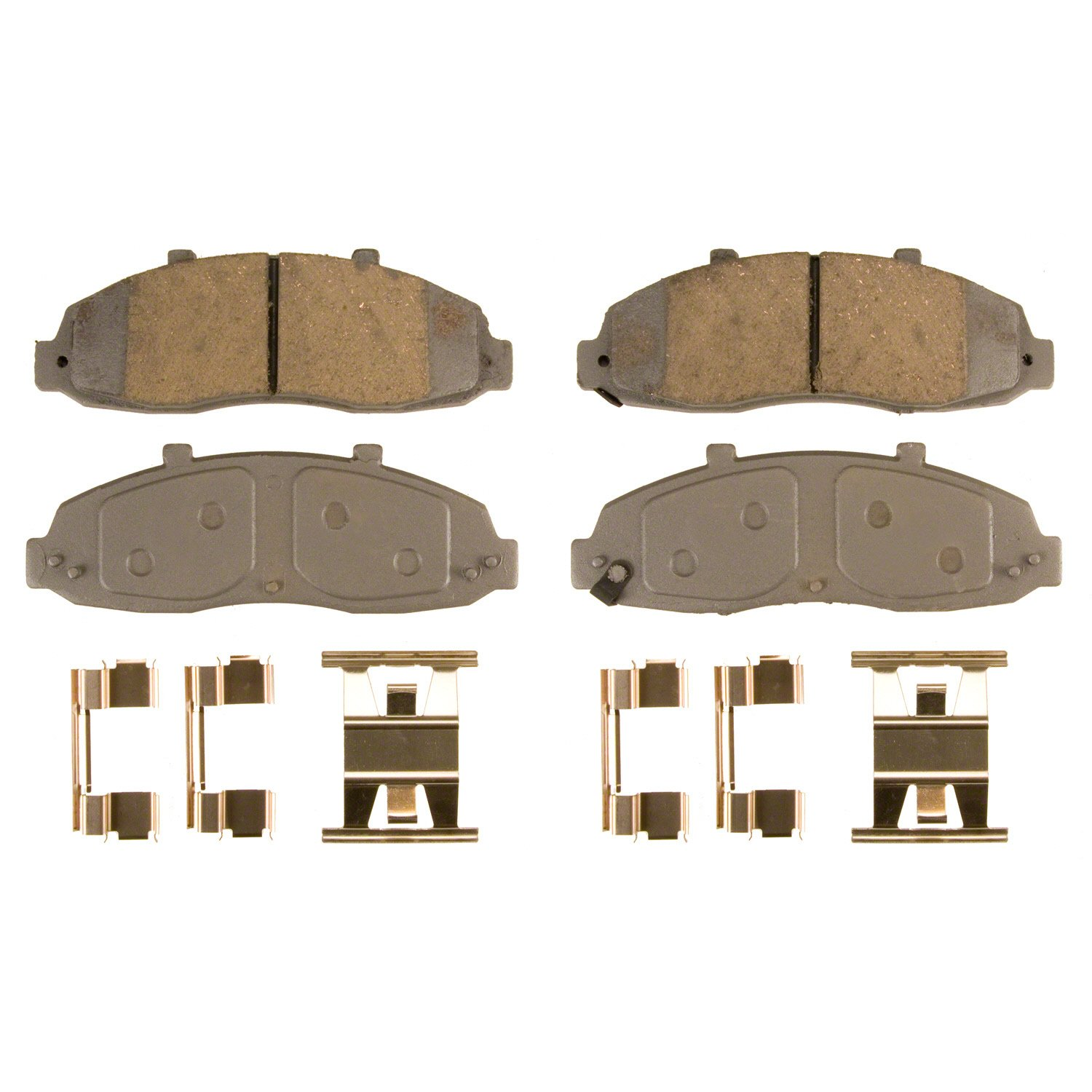 Disc Brake Pad Set-ThermoQuiet Disc Brake Pad Front Wagner MX679