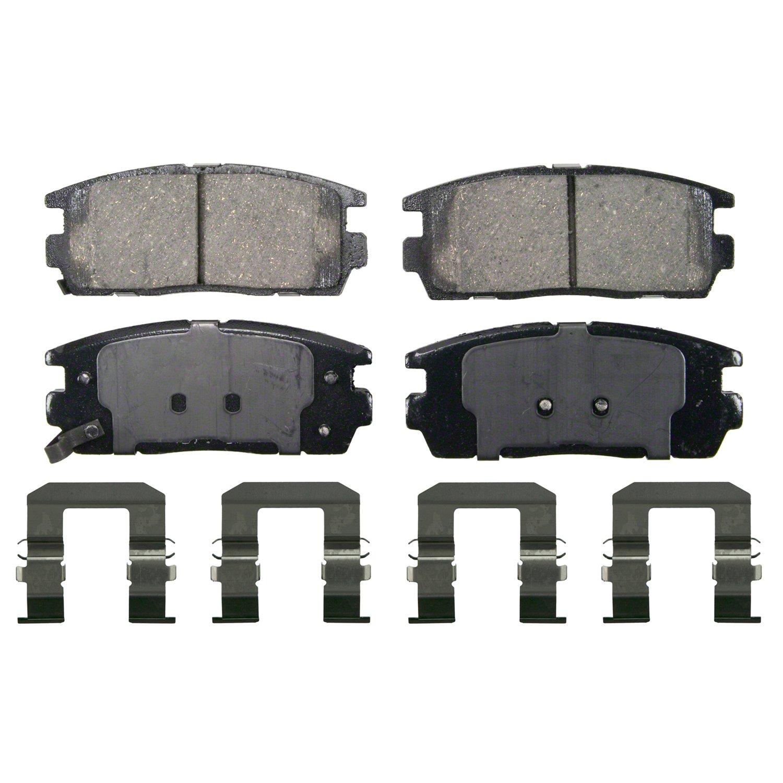 Raybestos MGD1275CH Reliant Brake Pad Set