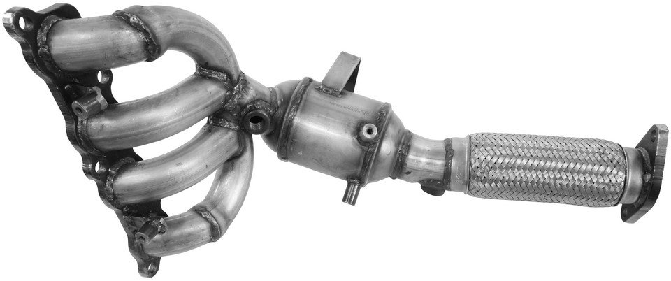 Dorman 674-927 Ford Fiesta Exhaust Manifold with Integrated Catalytic Converter