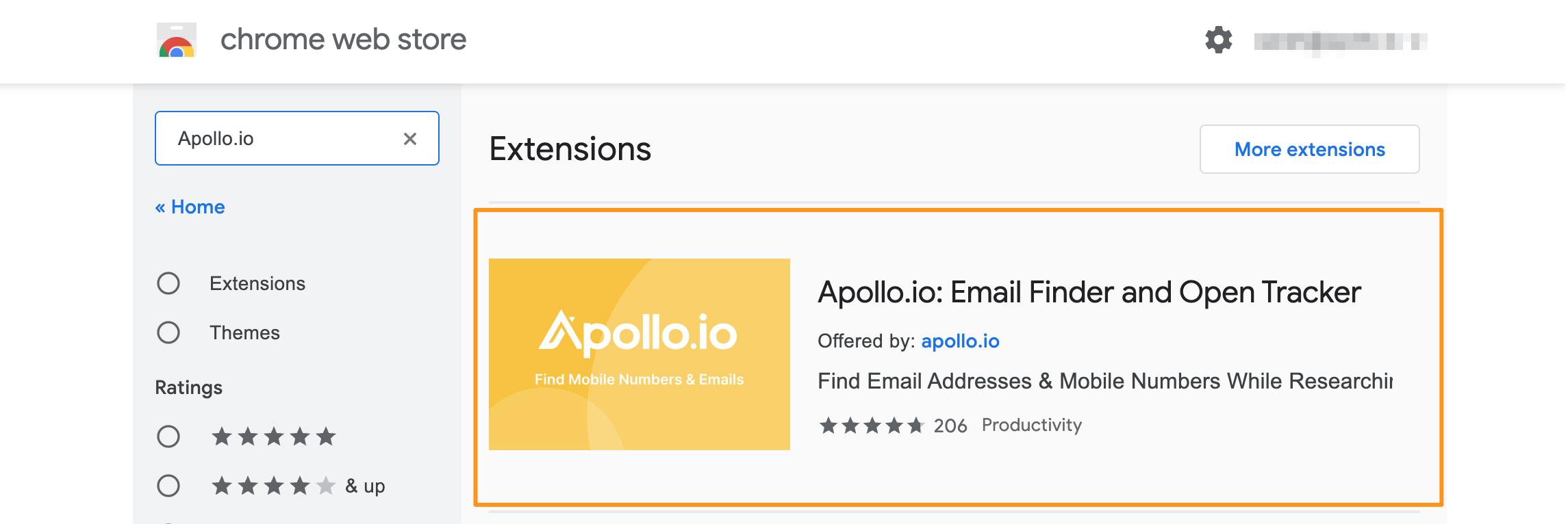 Apollo Extension
