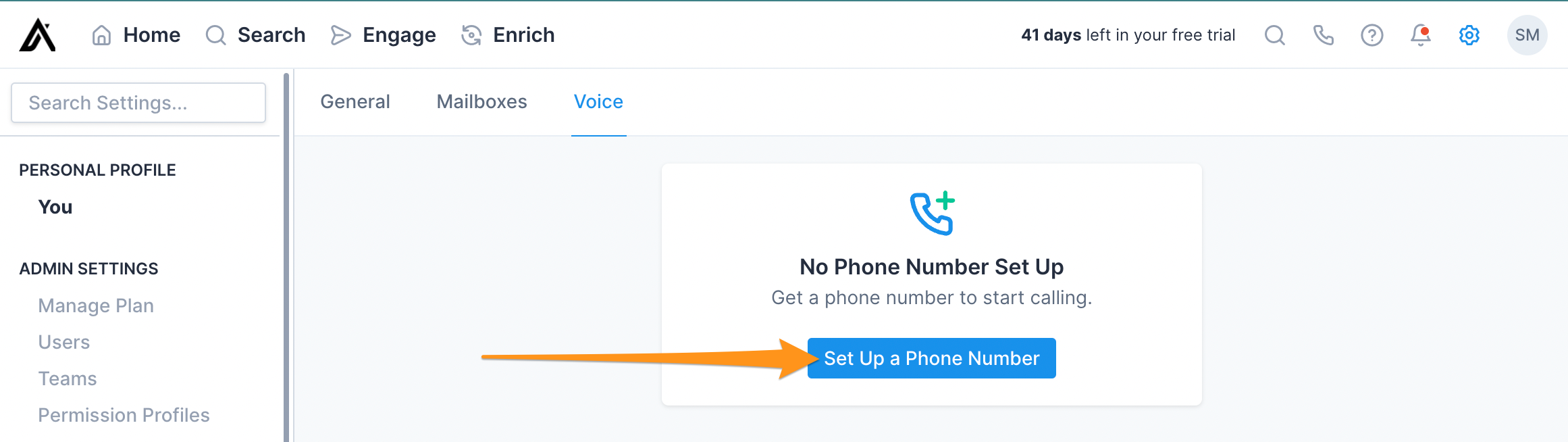 Set Up A Phone Number