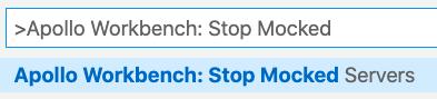 Stopping Mocks