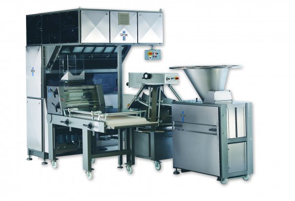 Glimek Flexible Make Up Dough Handling Bread Line