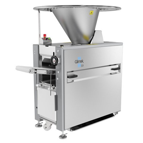 Glimek automatic suction dough bread divider SD180 for bakeries, bakery, bread line, make up line