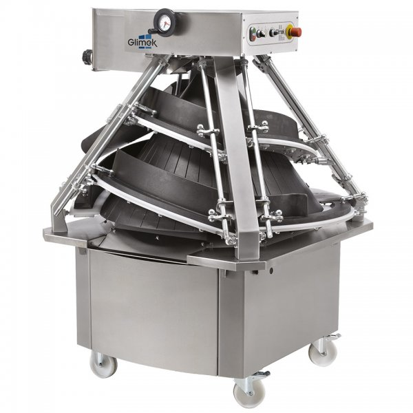 Conical Dough Rounder CR360 Glimek makes perfectly rounded buns