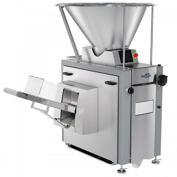 Suction dough divider SD300 automatic bread divider adapted for heavy-duty production in bakery Glimek
