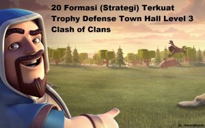 trophy defense town hall 3