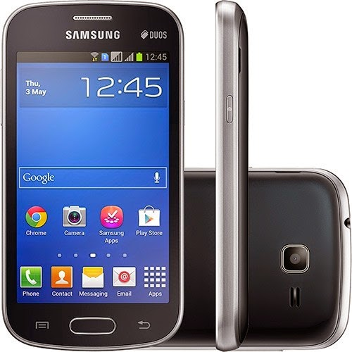 Samsung Galaxy V Duos Black