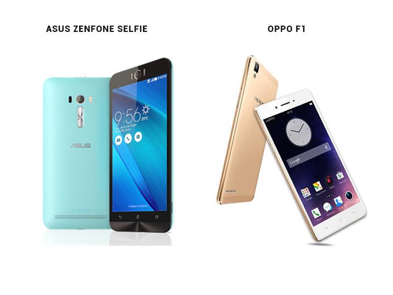 Oppo F1 VS Asus Zenfone Selfie 2
