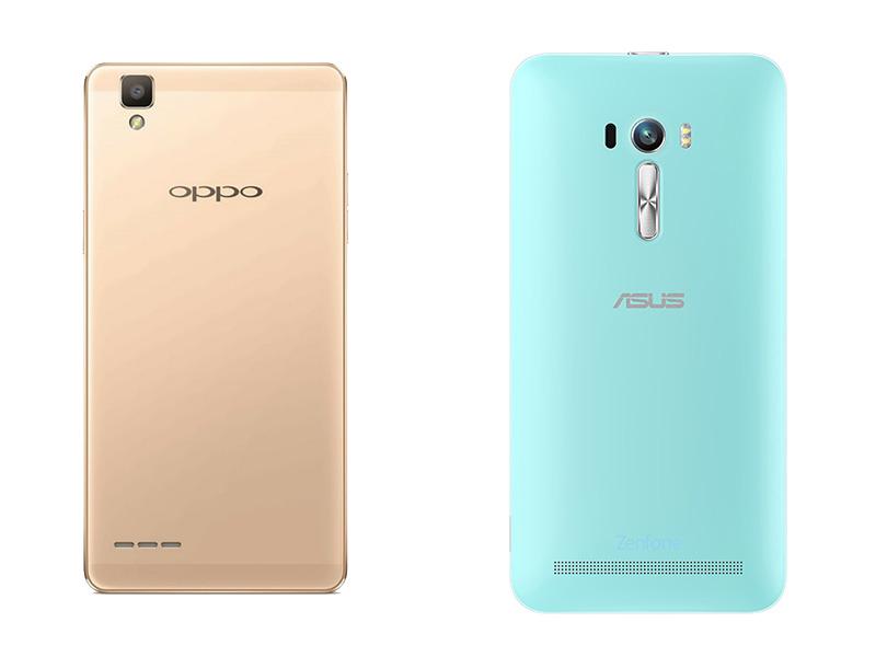 Oppo F1 VS Asus Zenfone Selfie 3