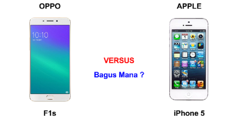 Oppo-F1s-vs-iphone-5