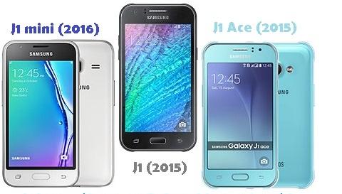 Samsung J1 mini (2016) vs J1 Ace vs J1 Harga dan Spesifikasi