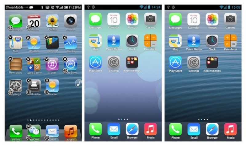 cover cara mudah upgrade iOS 7 di android