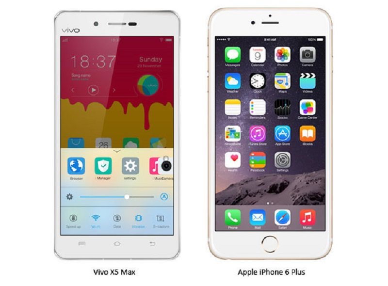 (1) iPhone 6 Plus VS Vivo X5 Max